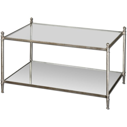 Uttermost Accent Furniture Gannon Modern Coffee Table