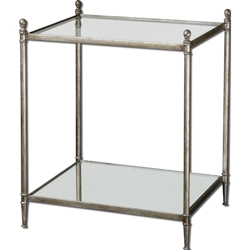 Uttermost Accent Furniture Gannon End Table