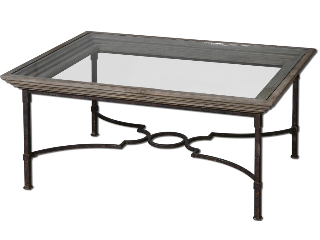 Uttermost Accent Furniture Huxley Coffee Table Dunk Bright - Uttermost driftwood cocktail table