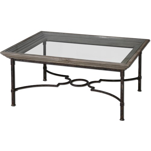 Uttermost Accent Furniture Huxley Coffee Table