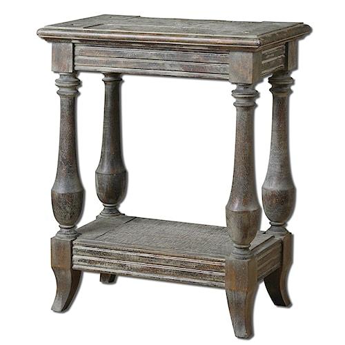 Uttermost Accent Furniture Mardonio Side Table
