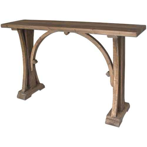 Uttermost Accent Furniture Genessis Console Table