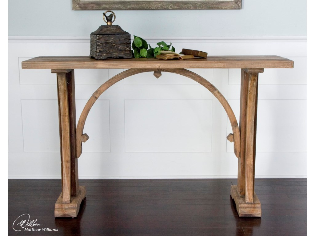 Uttermost Accent Furniture - Occasional TablesGenessis Console Table