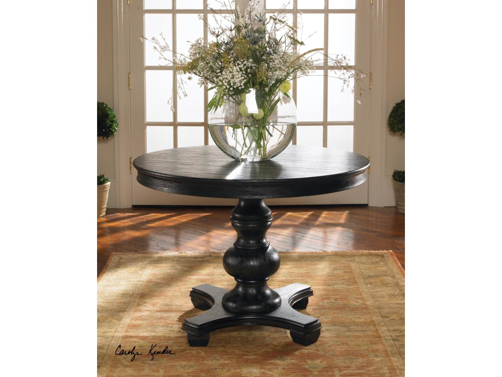 Uttermost Accent FurnitureBrynmore Wood Grain Round Table