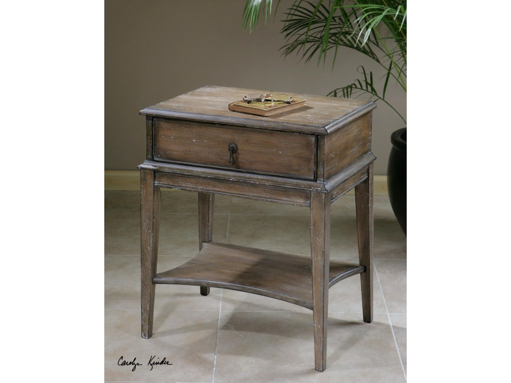 Uttermost Accent FurnitureHanford Weathered Accent Table