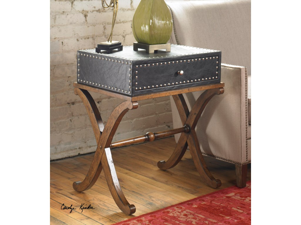 Uttermost Accent Furniture - Occasional TablesLok Accent Table