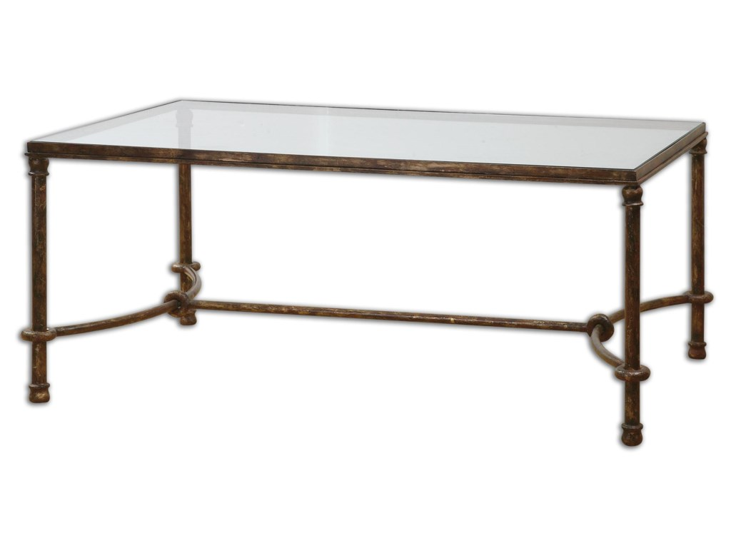 Uttermost Accent Furniture - Occasional TablesWarring Iron Coffee Table