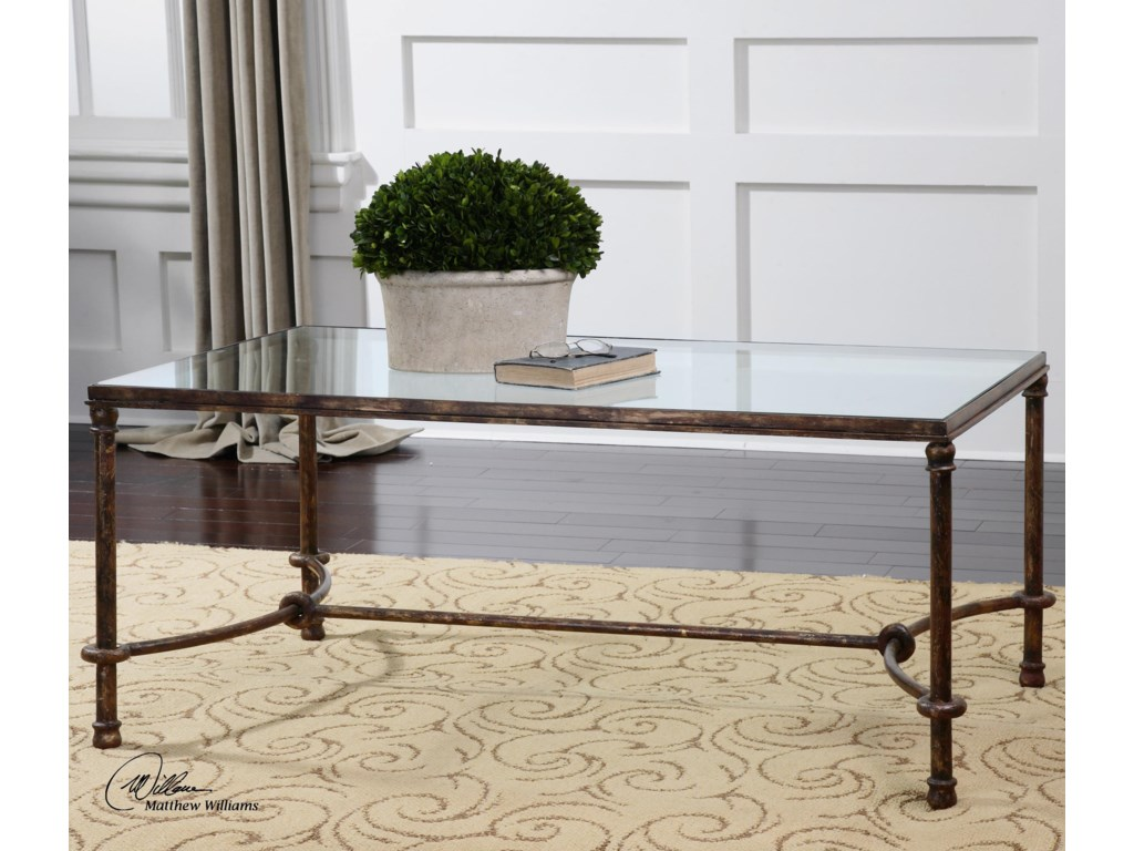 Uttermost Accent FurnitureWarring Iron Coffee Table