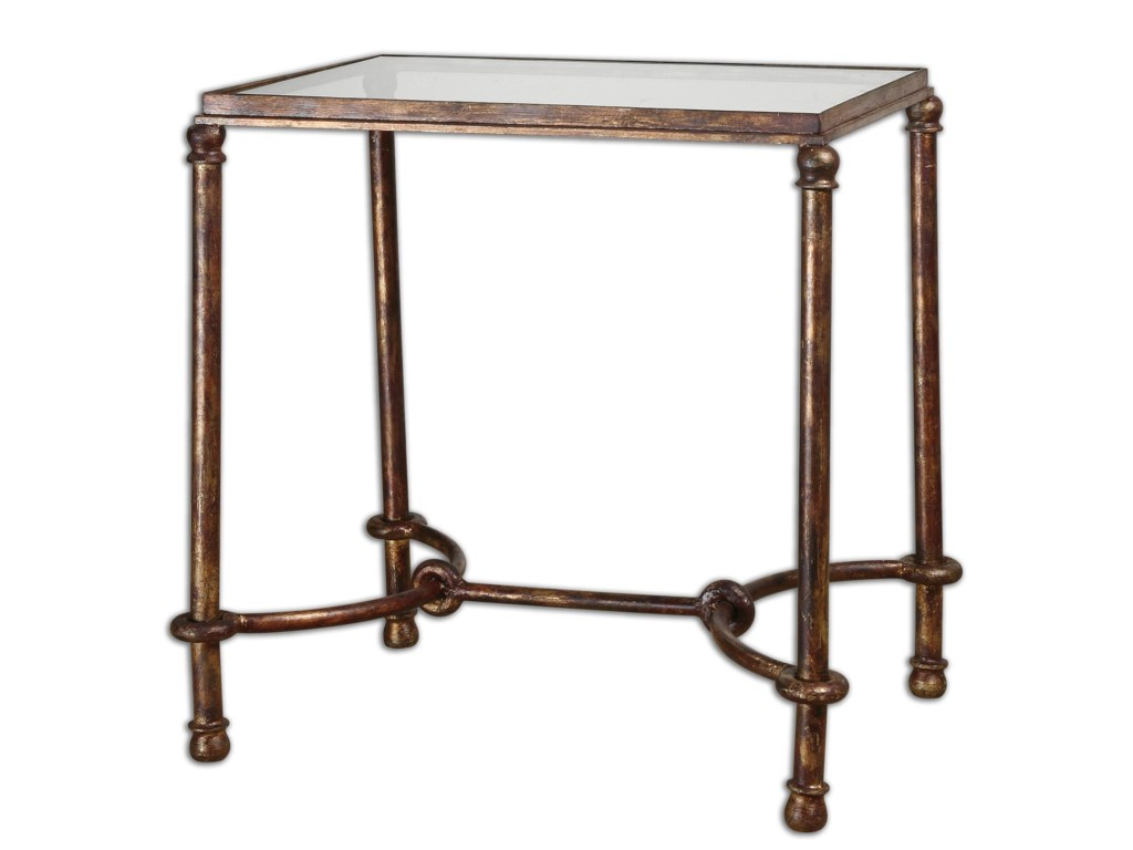 Uttermost Accent FurnitureWarring Iron End Table