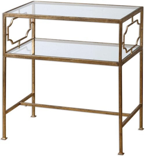 Uttermost Accent Furniture Genell Side Table