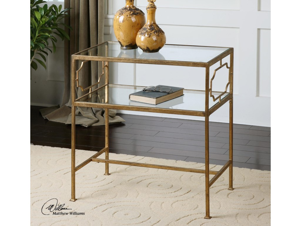 Uttermost Accent Furniture - Occasional TablesGenell Side Table