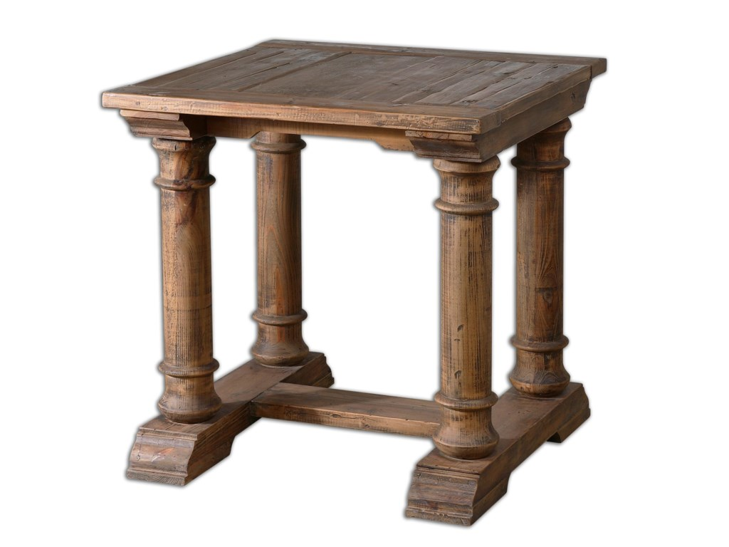 Uttermost Accent FurnitureSaturia Wooden End Table