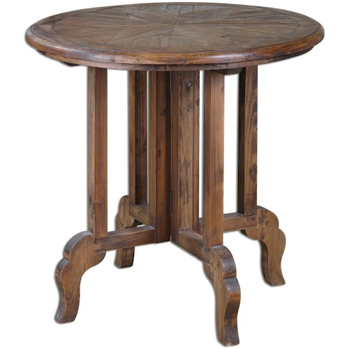 Uttermost Accent Furniture Imber Round Accent Table