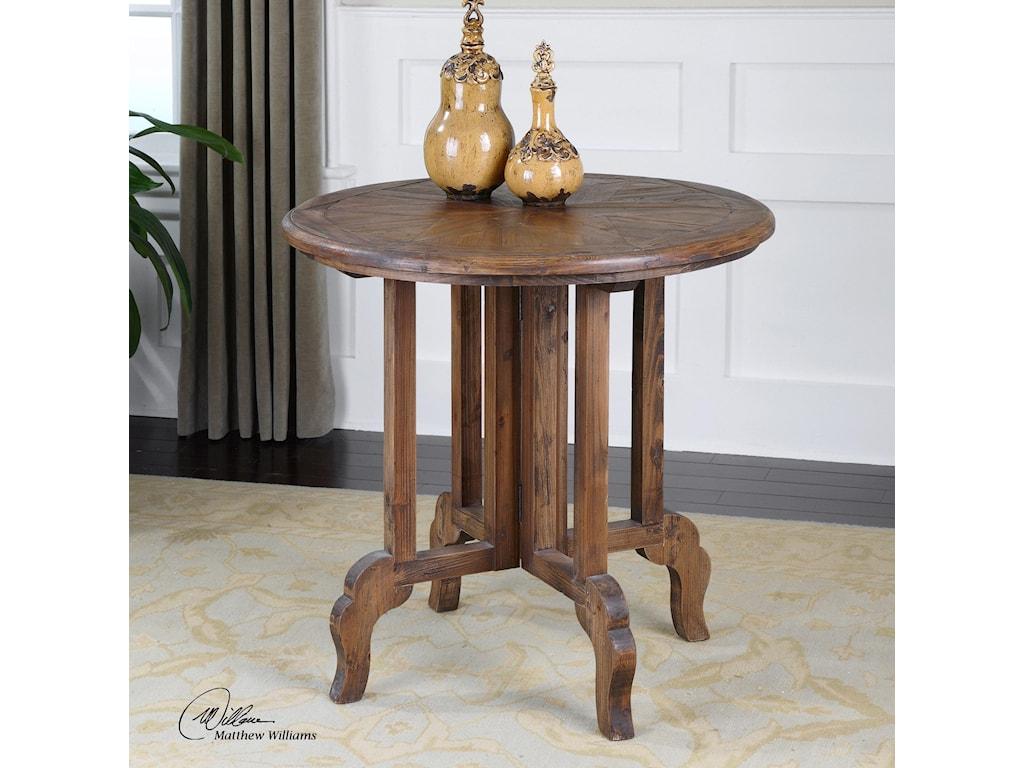 Uttermost Accent FurnitureImber Round Accent Table