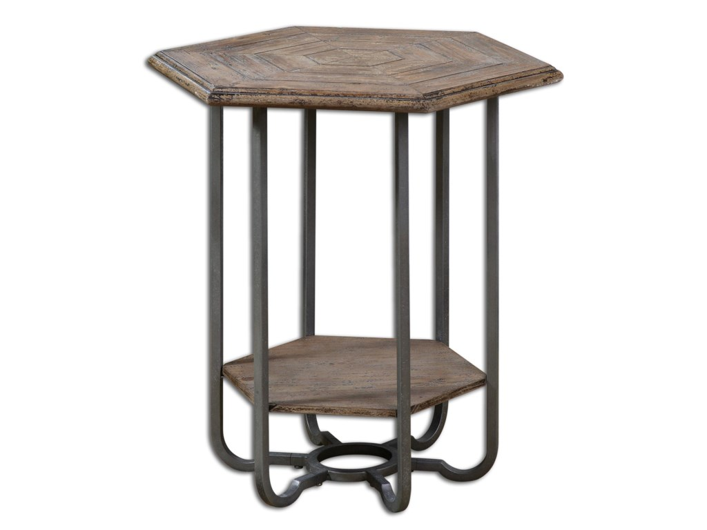 Uttermost Accent FurnitureMayson Wooden Accent Table