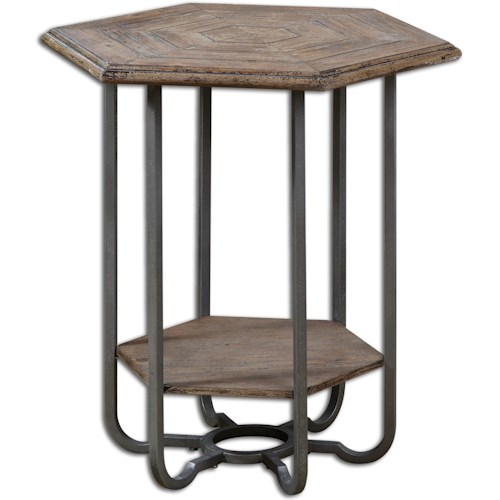 Uttermost Accent Furniture Mayson Wooden Accent Table
