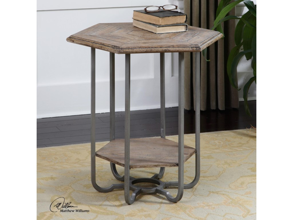 Uttermost Accent Furniture - Occasional TablesMayson Wooden Accent Table
