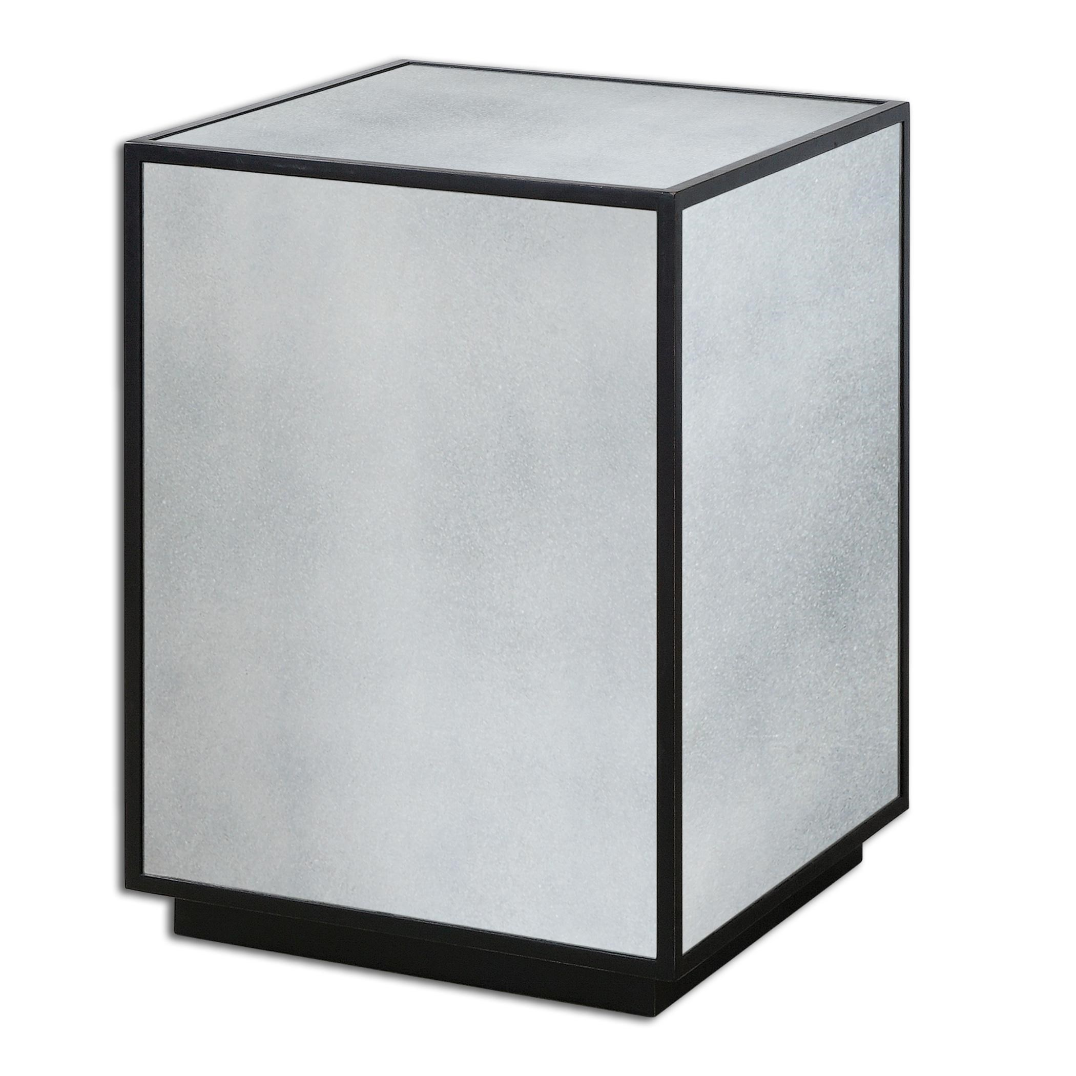 mirrored side table. Uttermost Accent FurnitureMatty Mirrored Side Table S