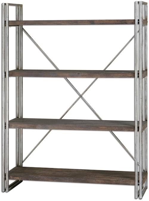 Uttermost Accent Furniture Greeley Metal Etagere