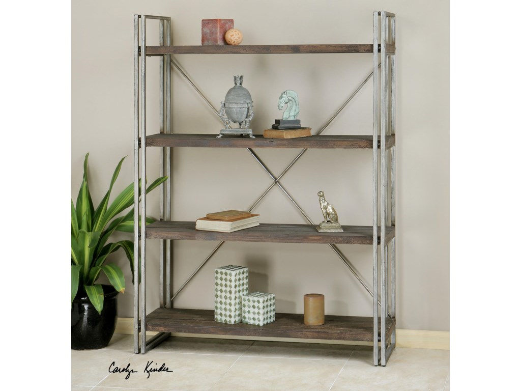 Uttermost Accent Furniture - BookcasesGreeley Metal Etagere