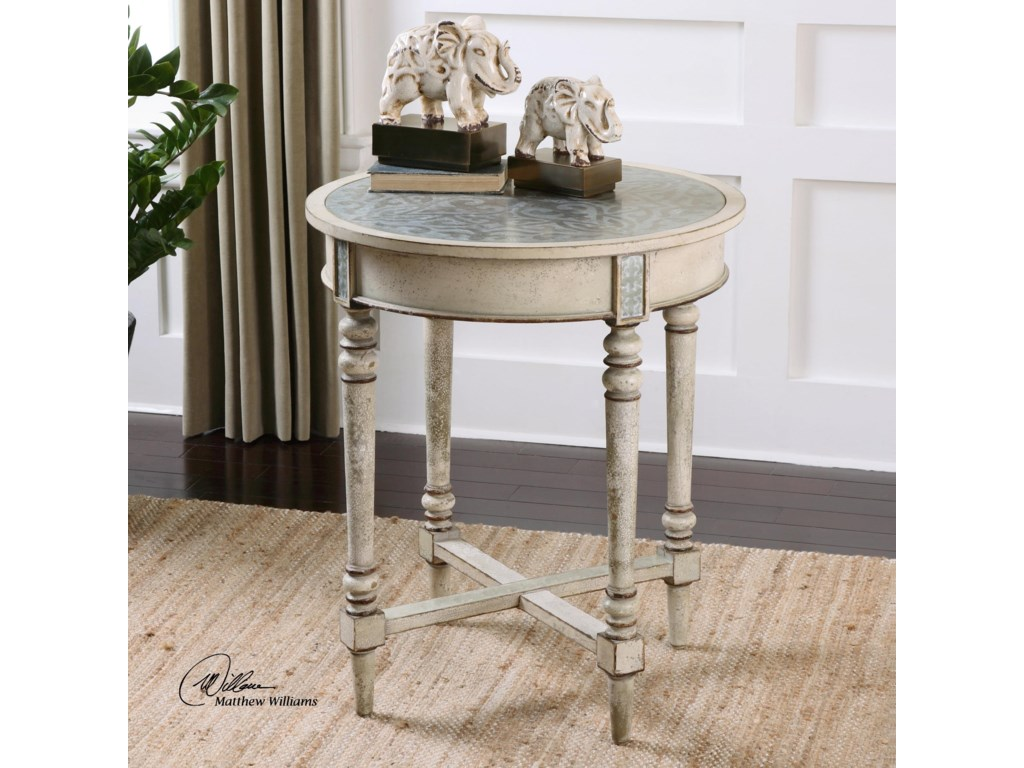 Uttermost Accent Furniture - Occasional TablesJinan Accent Table