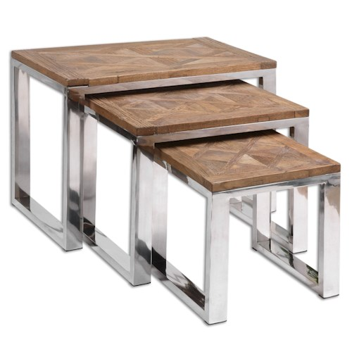 Uttermost Accent Furniture Hesperos Nesting Tables