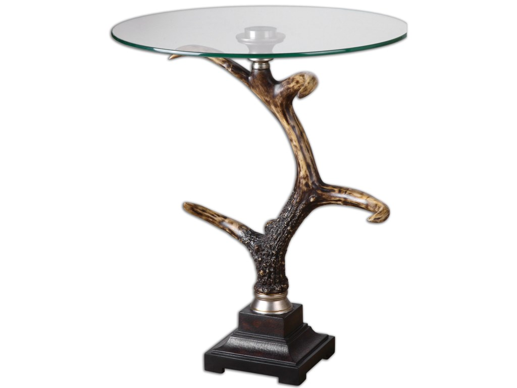 Uttermost Accent Furniture - Occasional TablesStag Horn Accent Table