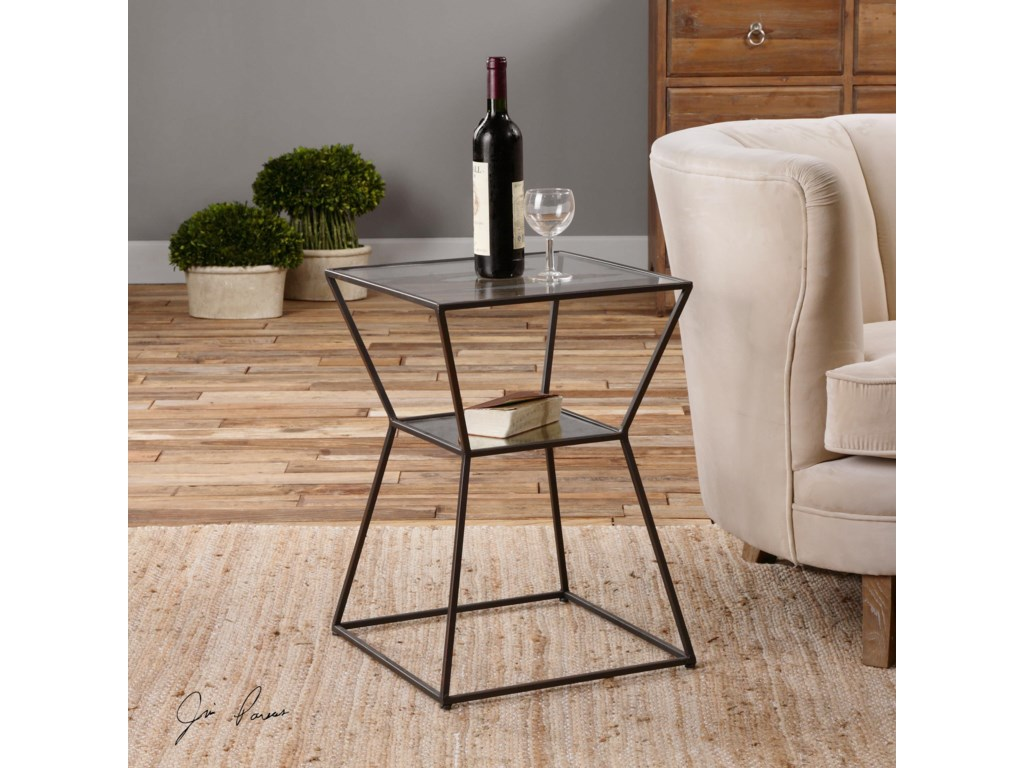 Uttermost Accent Furniture - Occasional TablesAuryon Iron Accent Table
