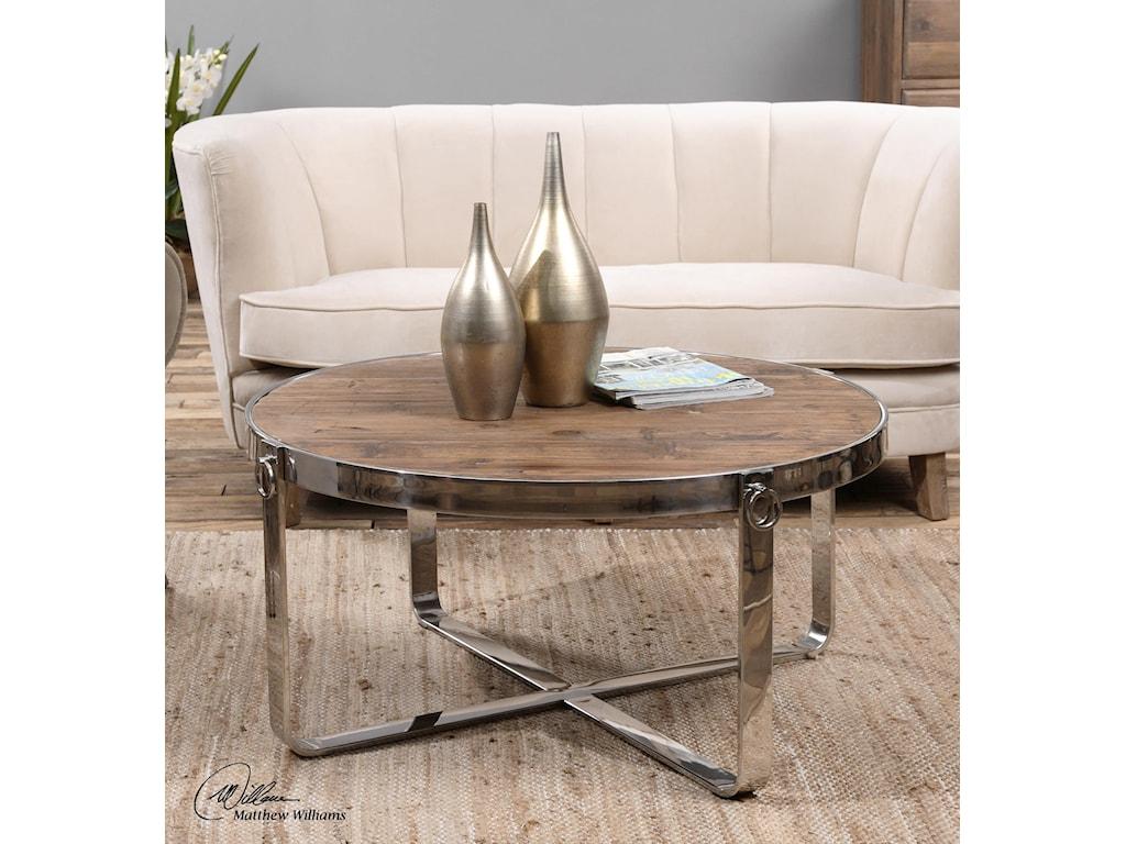 Uttermost Accent FurnitureBerdine Wooden Coffee Table