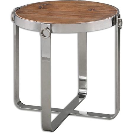 Berdine Wooden Side Table