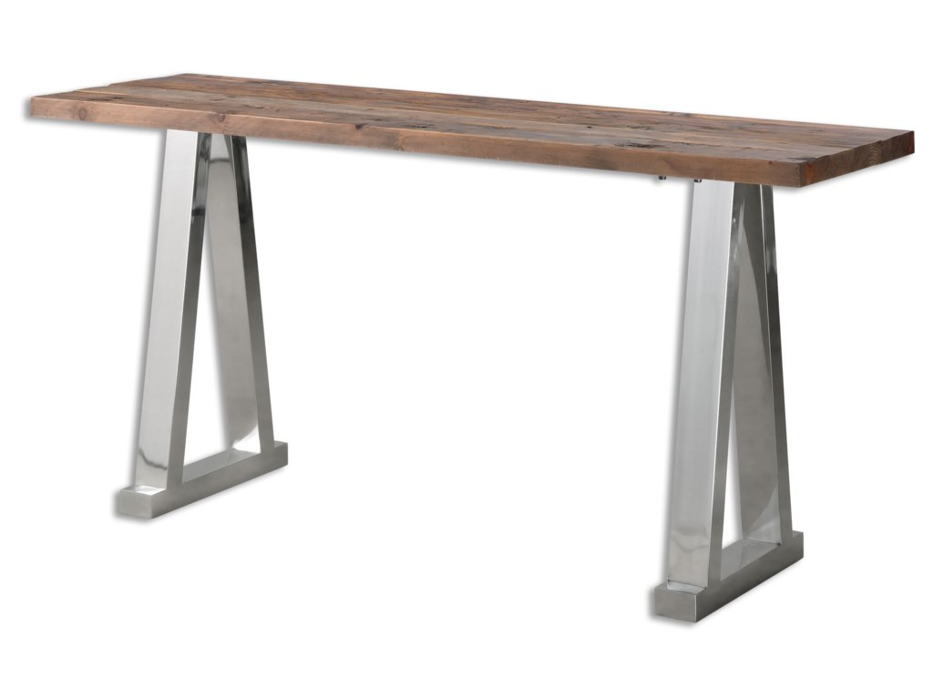 Uttermost Accent FurnitureHesperos Wooden Console Table