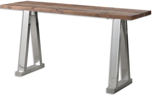 Uttermost Accent Furniture Hesperos Wooden Console Table