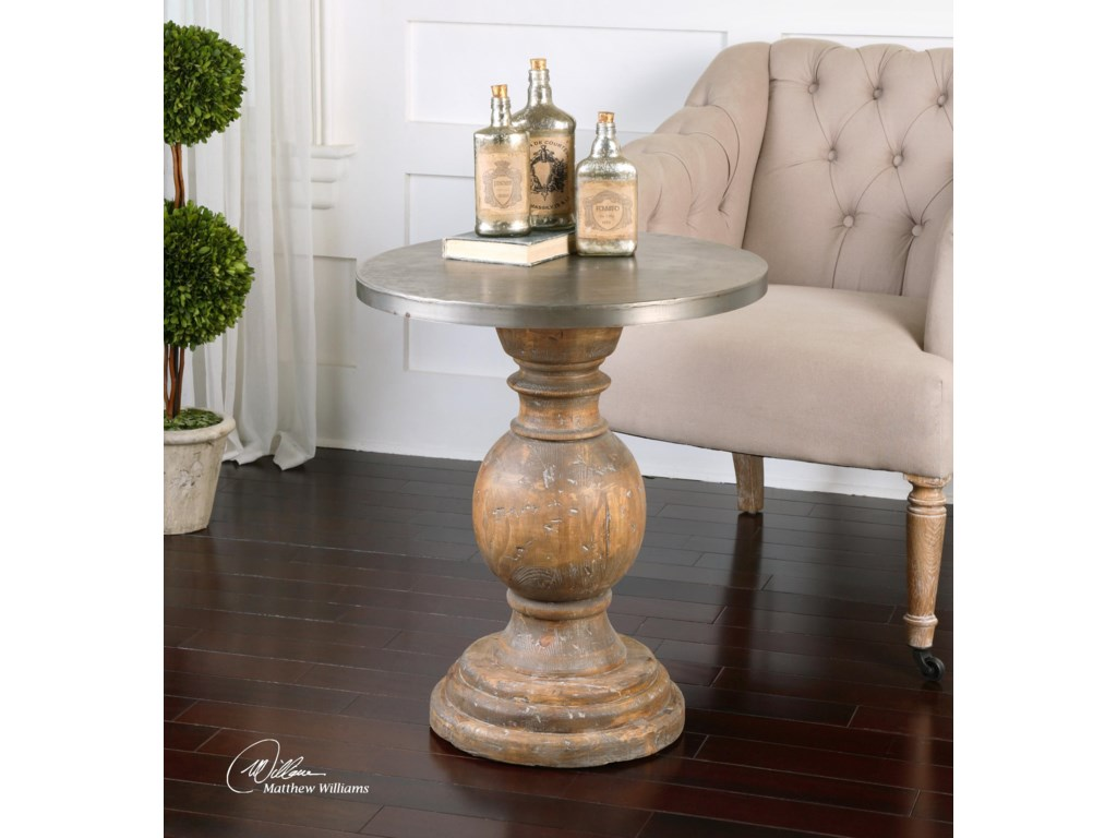 Uttermost Accent Furniture - Occasional TablesBlythe Wooden Accent Table
