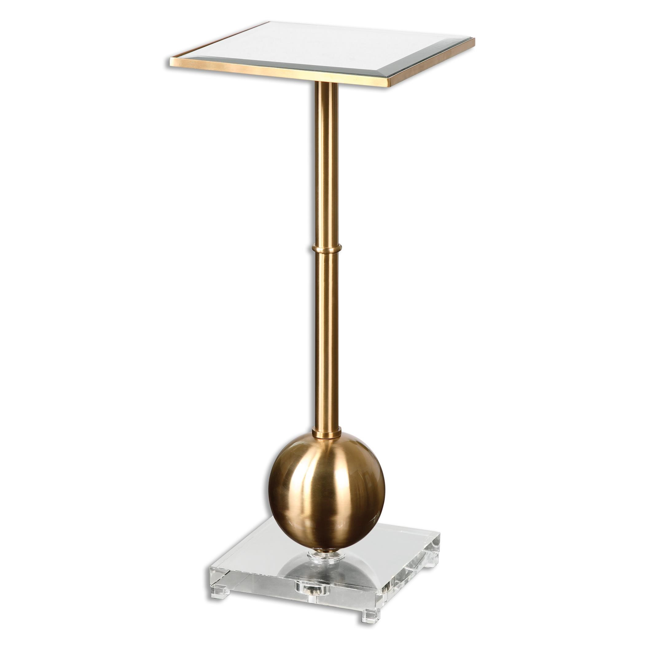 Uttermost Accent FurnitureLaton Mirrored Accent Table ...