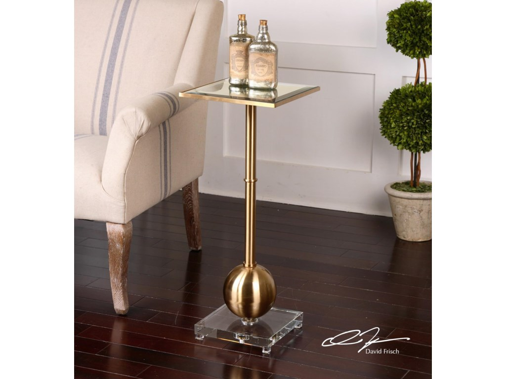 Uttermost Accent FurnitureLaton Mirrored Accent Table