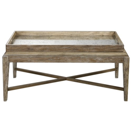 Uttermost Accent Furniture Marek Wooden Coffee Table