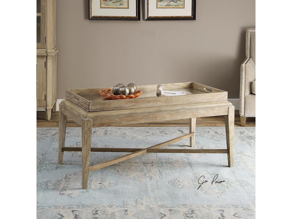 Uttermost Accent FurnitureMarek Wooden Coffee Table