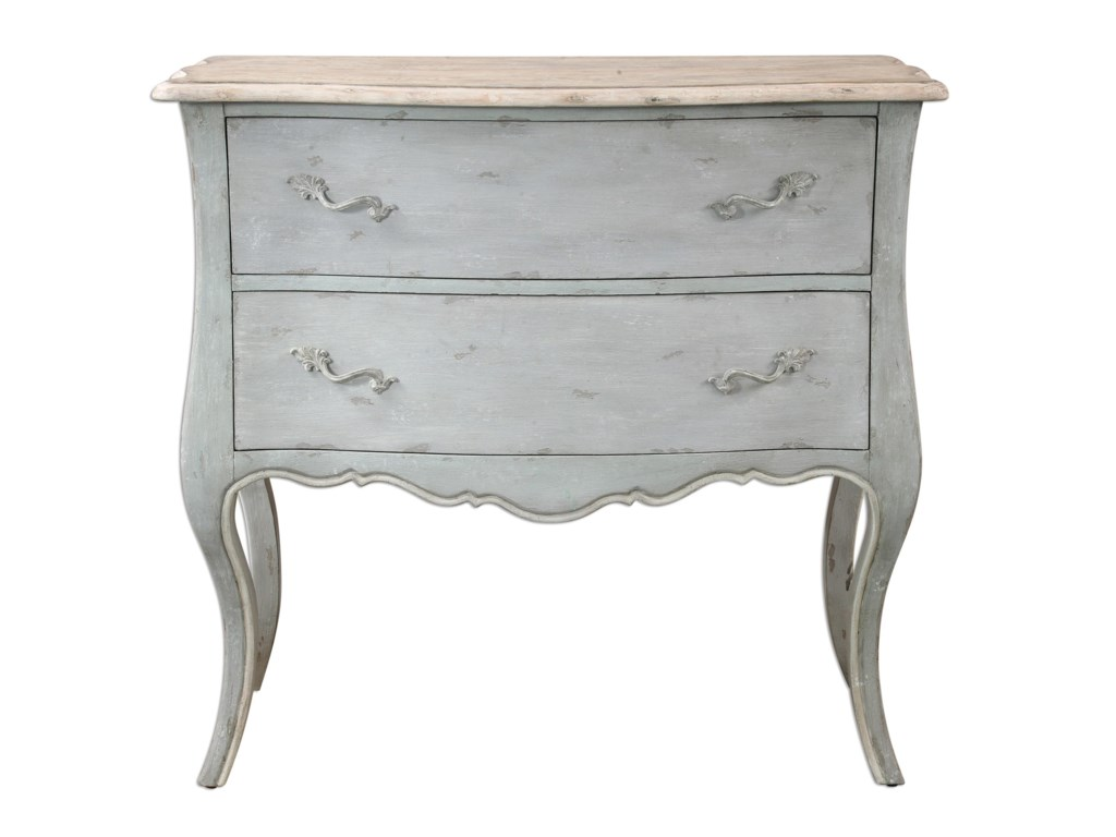 Uttermost Accent Furniture - ChestsFerrand Gray Accent Chest