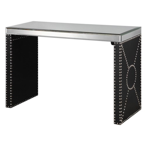 Uttermost Accent Furniture Lucero Mirrored Sofa Table