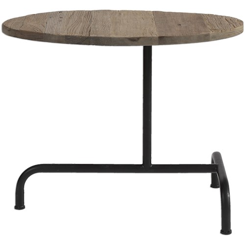 Uttermost Accent Furniture Martez Industrial Accent Table