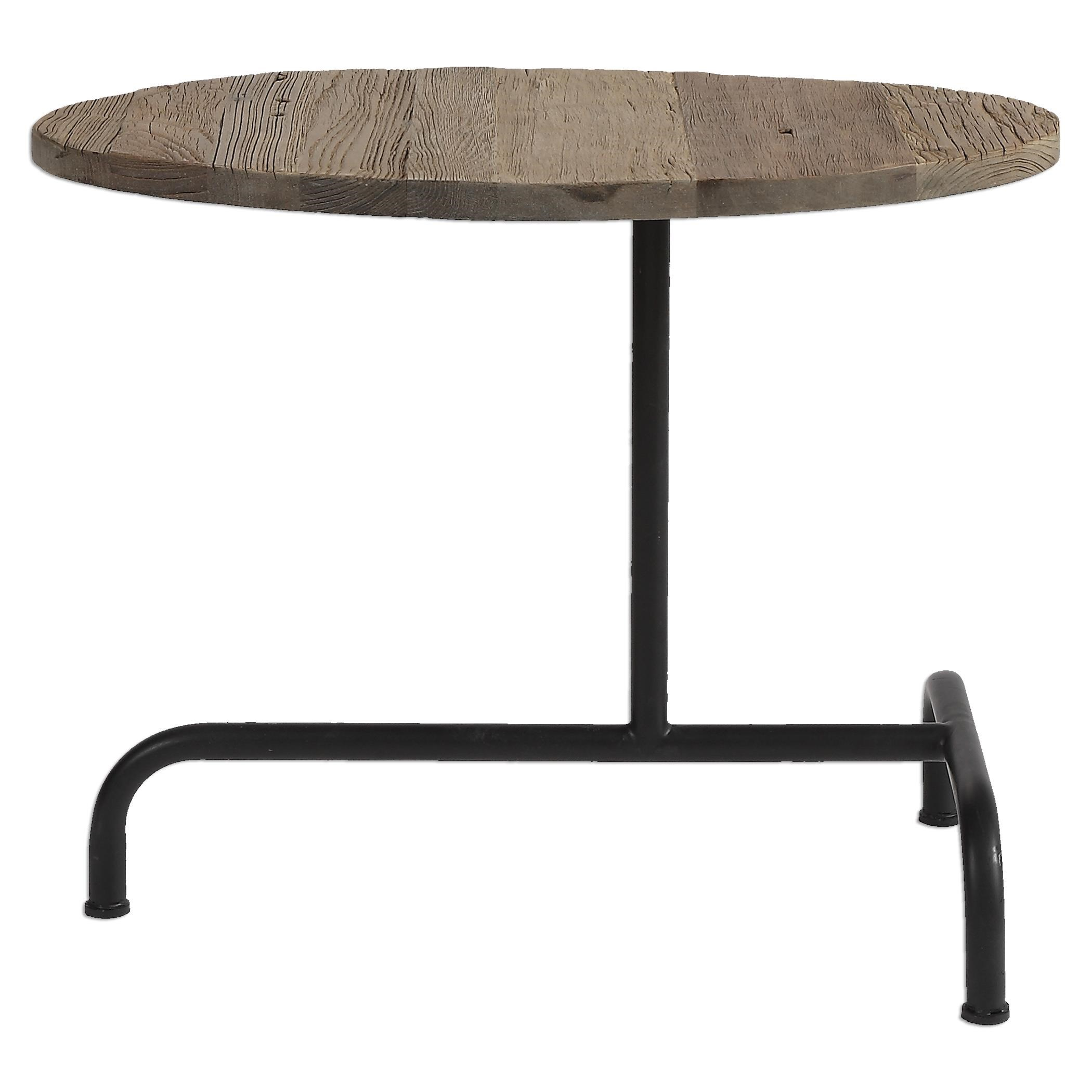 Medium image of uttermost accent furniture martez industrial accent table
