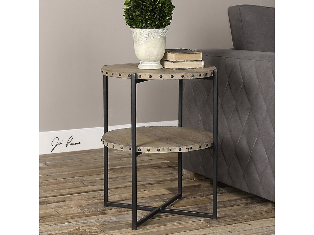 Uttermost Accent Furniture - Occasional TablesKamau Round Accent Table