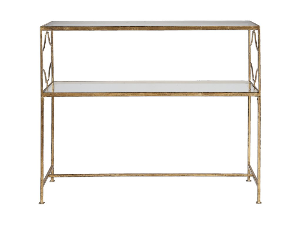 Uttermost Accent FurnitureGenell Gold Iron Console Table