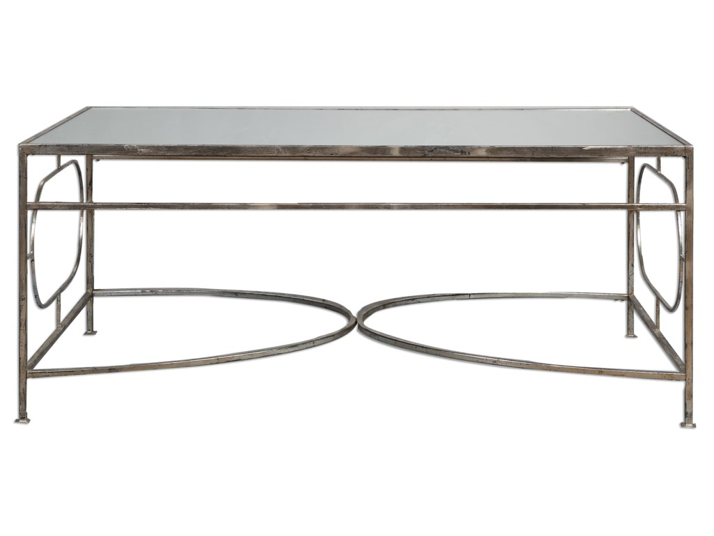 Uttermost Accent Furniture - Occasional TablesLuano Silver Coffee Table
