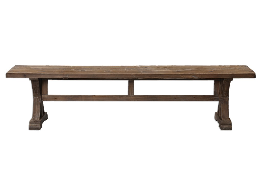 Uttermost Accent FurnitureStratford Salvaged Wood Bench