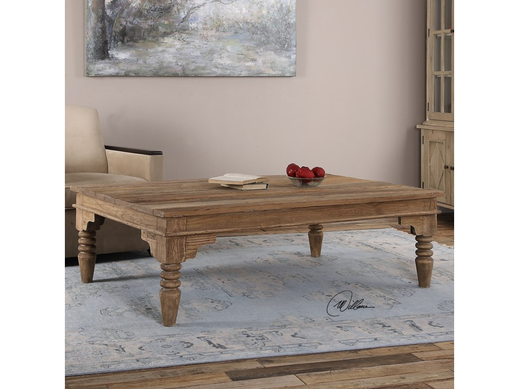Uttermost Accent FurnitureKhristian Reclaimed Wood Coffee Table