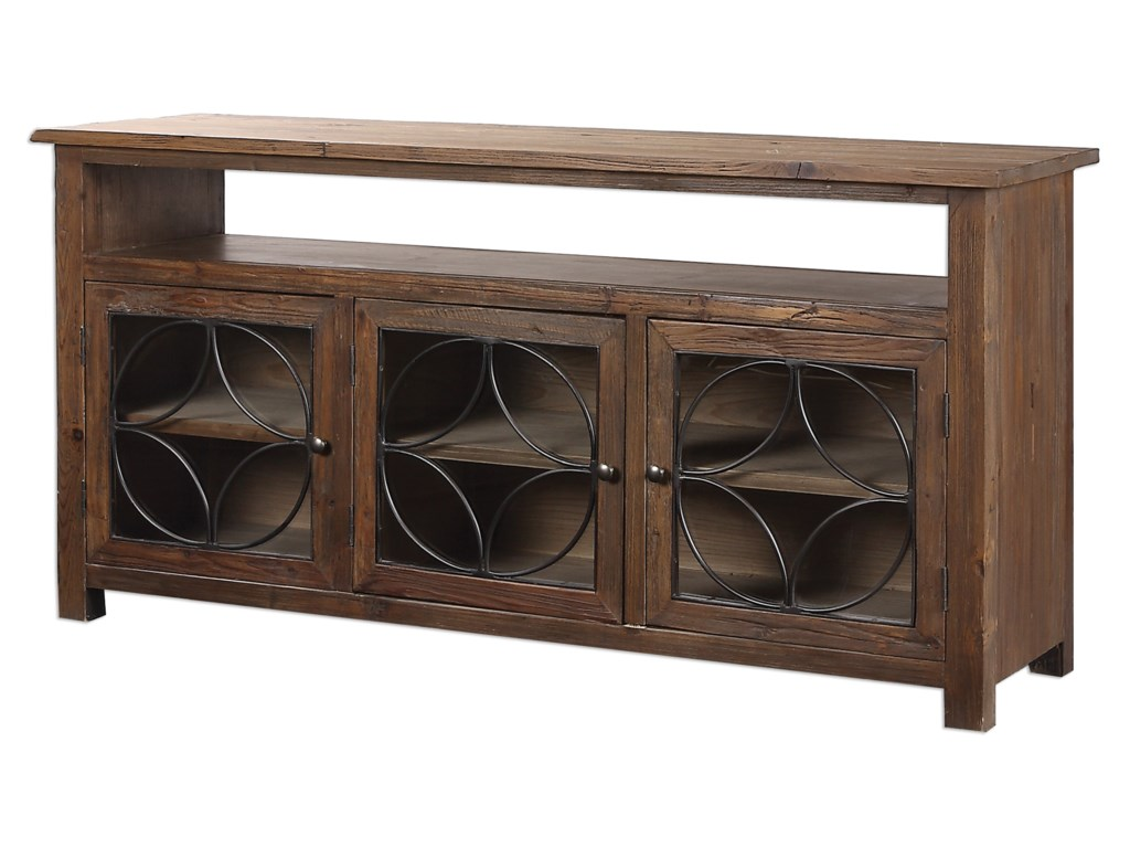 Uttermost Accent FurnitureDearborn Reclaimed Pine Credenza