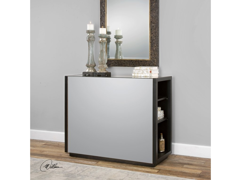 Uttermost Accent Furniture - Occasional TablesNeala Mirrored Console Table