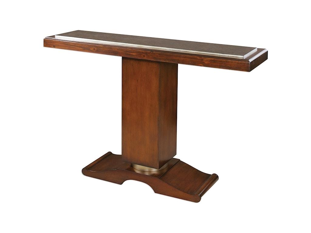 Uttermost Accent FurnitureTaniel Pedestal Console Table