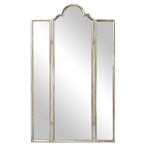 Uttermost Accent Furniture Neema Three Paneled Mirror Screen